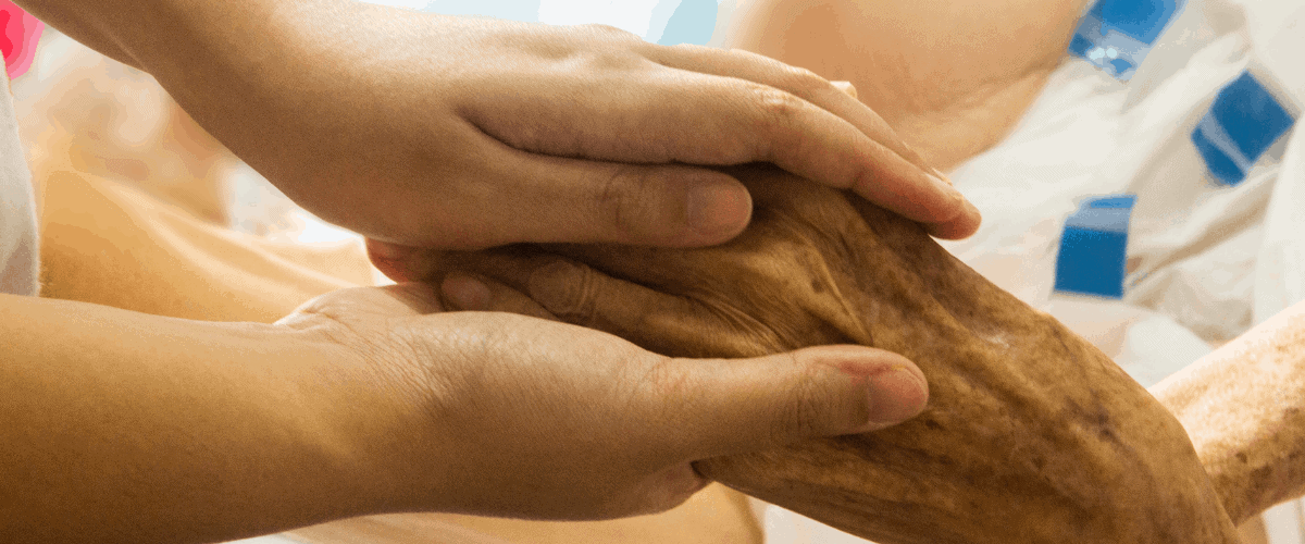comforting patients to the very end
